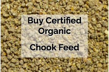 Buy Certified Organic Chookfeed