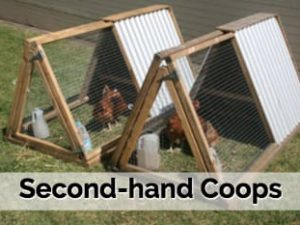Secondhand eco chicken coop for sale rentachook sydney